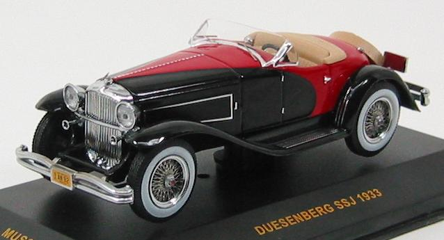 Duesenberg SSJ (1933) Black & Red