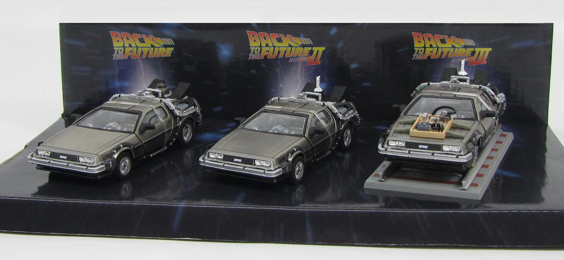 DeLorean DMC-12 Time Machine Set