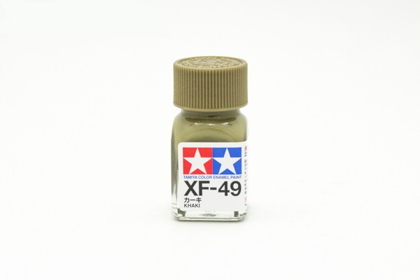 XF-49 Khaki flat, enamel paint 10 ml. (Хаки матовый) Tamiya