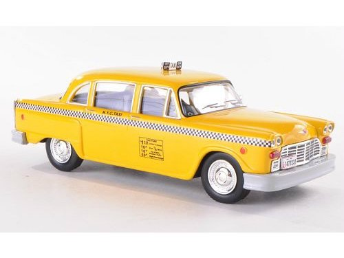 Checker Taxi 1980 Yellow Cab NY