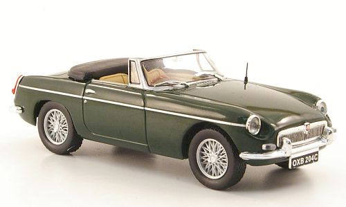 MG B Roadster Mk II (1968) green