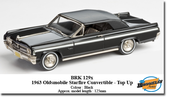 1963 Oldsmobile Starfire Convertible - Top Up