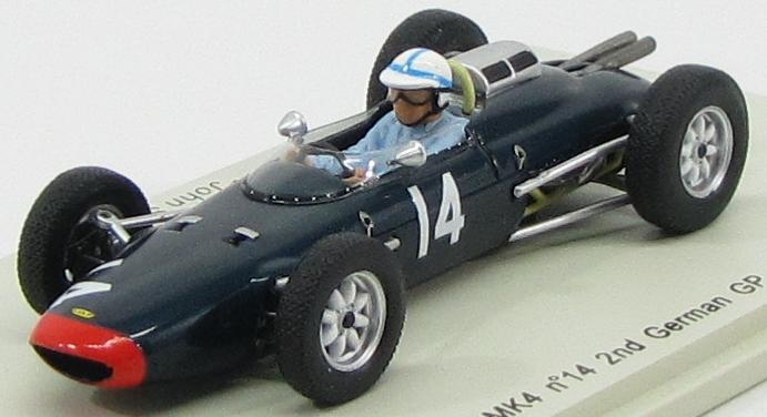 Lola MK4 #14 2nd German GP 1962 John Surtees