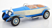 ROLLS ROYCE New Phantom Barker Tourer #10EX 1926 Blue/White