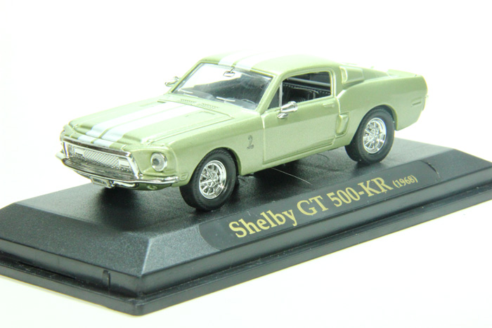 Shelby GT 500-KR (1968) gold