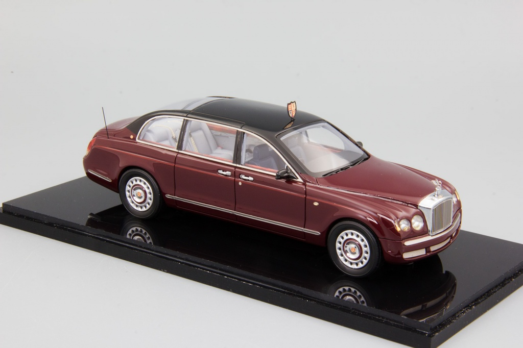Bentley State Limousine (2002) maroon