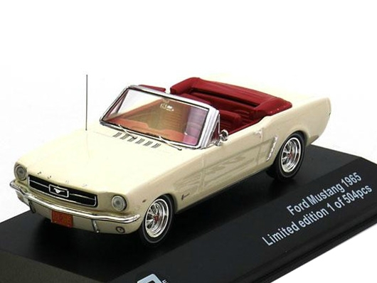Ford Mustang Convertible 1965 Beige