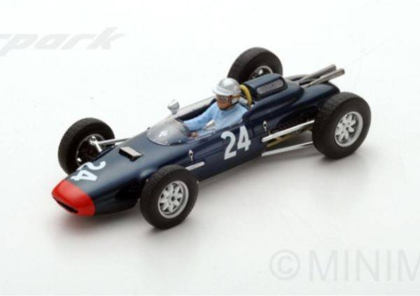 Lola MK4 #24 British GP 1963 John Campbell-Jones
