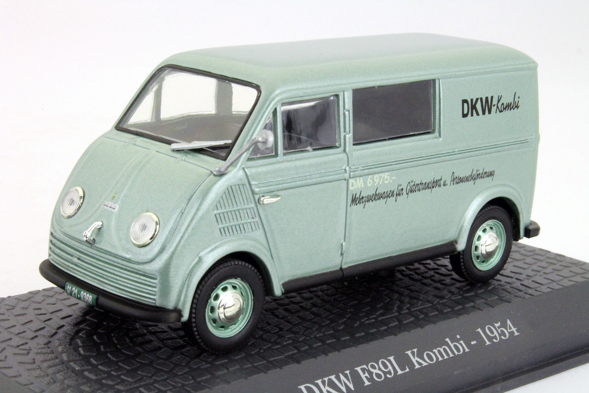 DKW F89L Kombi 1954 Light Green metallic