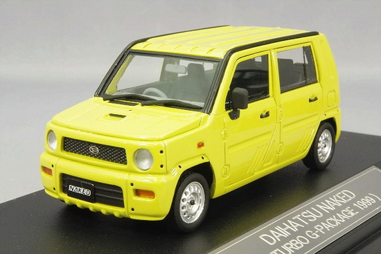 Daihatsu Naked Turbo G 1999 Yellow