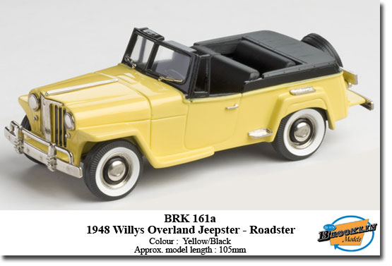 "Willys Overland Jeepster - Roadster ""Yellow"" -1948-"