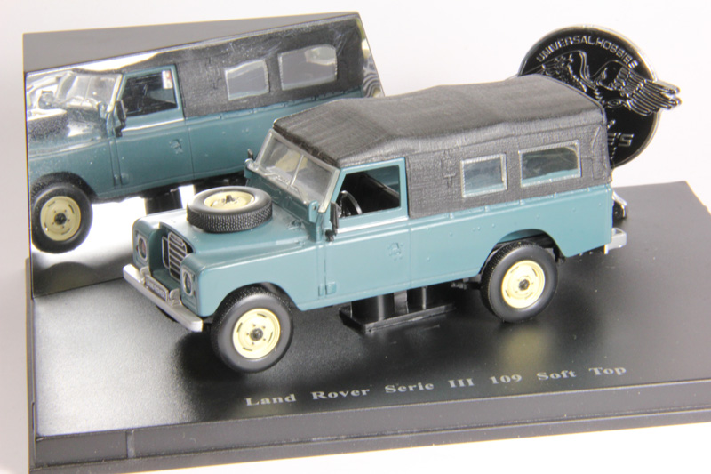 Уценка! Land Rover Serie III 109 Soft Top (grey)