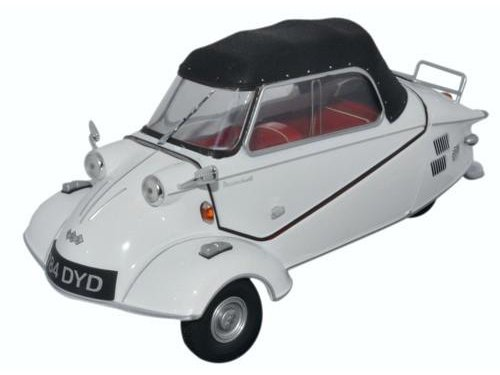 Messerschmitt KR200 Bubble Car Cabrio 1955 Polar White