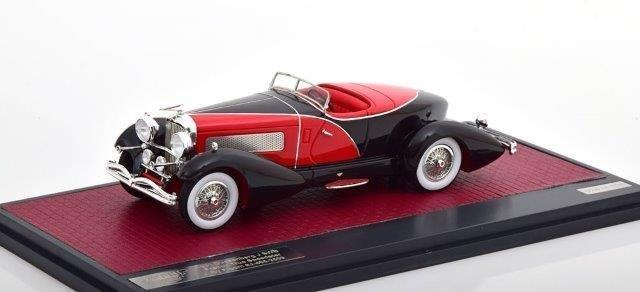 DUESENBERG J SWB French True Speedster by Figoni #J-465-2509 1931 Black/Red