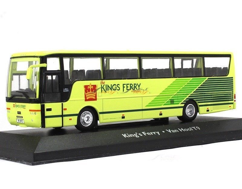 "SCANIA L94 Van Hool Alizee T9 Coach ""The Kings Ferry"" 1999 Yellow"