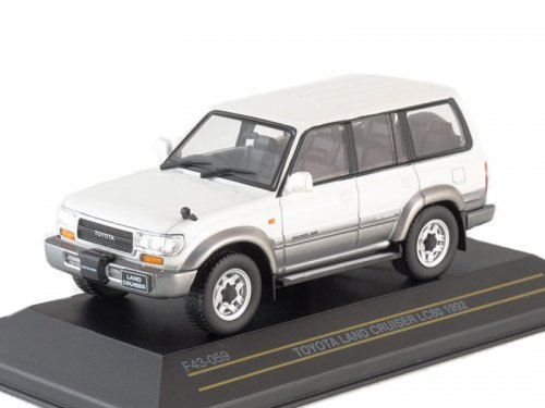 Toyota Land Cruiser 80 (TLC80) 4х4 Japan 1992 Metallic White/Silver