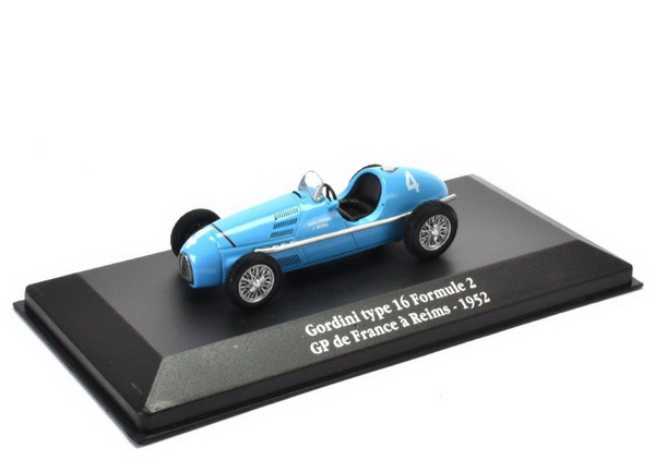 GORDINI Type 16 #4 Formula 2 GP France 1952