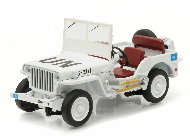 "Jeep Willys C7 ""United Nations"" 1950"