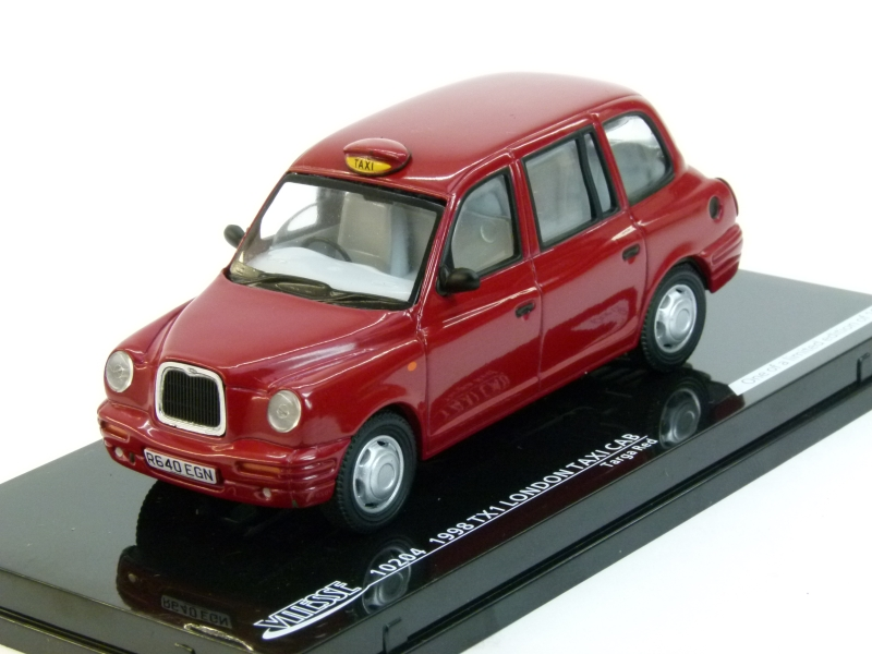 London Taxi Cab TX1 1998 Red