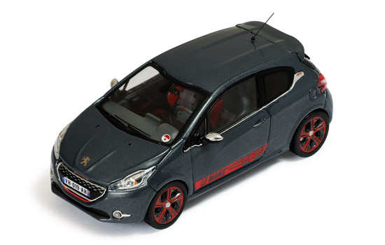 Peugeot 208 GTI Le Mans Edition 2014 Metallic Grey