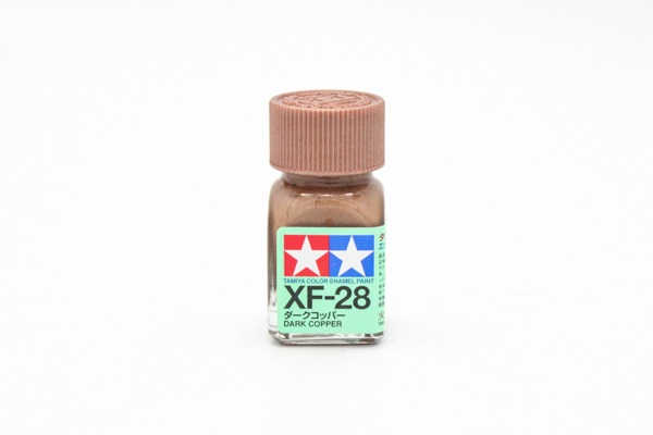 XF-28 Dark Copper metallic, enamel paint 10 ml. (Тёмная Медь металлик) Tamiya