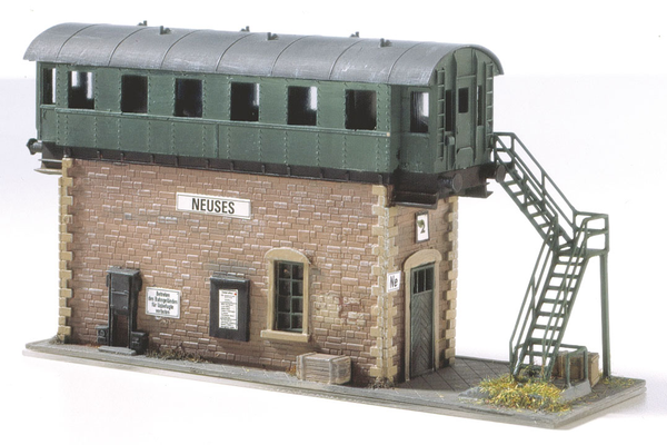 Classic Line Neuses old Switch Tower, Building Kit (HO-Scale)