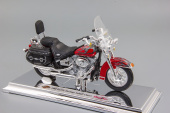 Harley-Davidson FLSTC Heritage Softail Classic (2002) Red