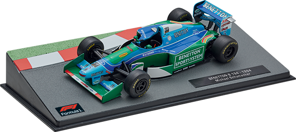 Benetton B194 Michael Schumacher (1994), Formula 1 Auto Collection 3