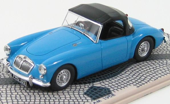 MG Mga Twin Cam Spider Soft Roof 1958 Blue