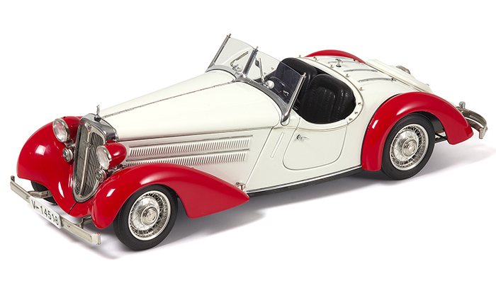 Audi 225 Front Roadster, 1935 Red / White