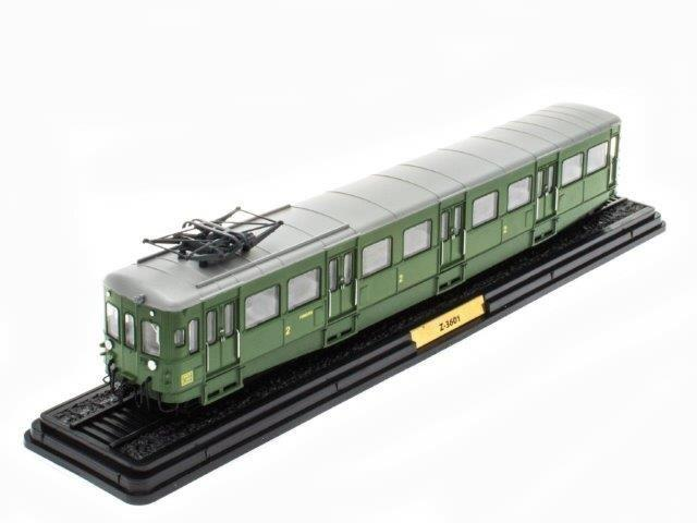 Z-3601 (L'AUTOMOTRICE TYPE Z-3600 SNCF) 1938 Green