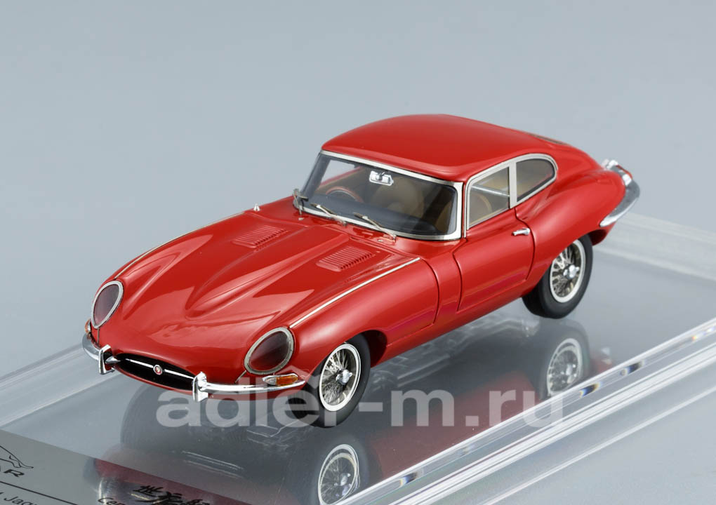 Jaguar E-Type Series 1 Coupe 1961 Carmin Red