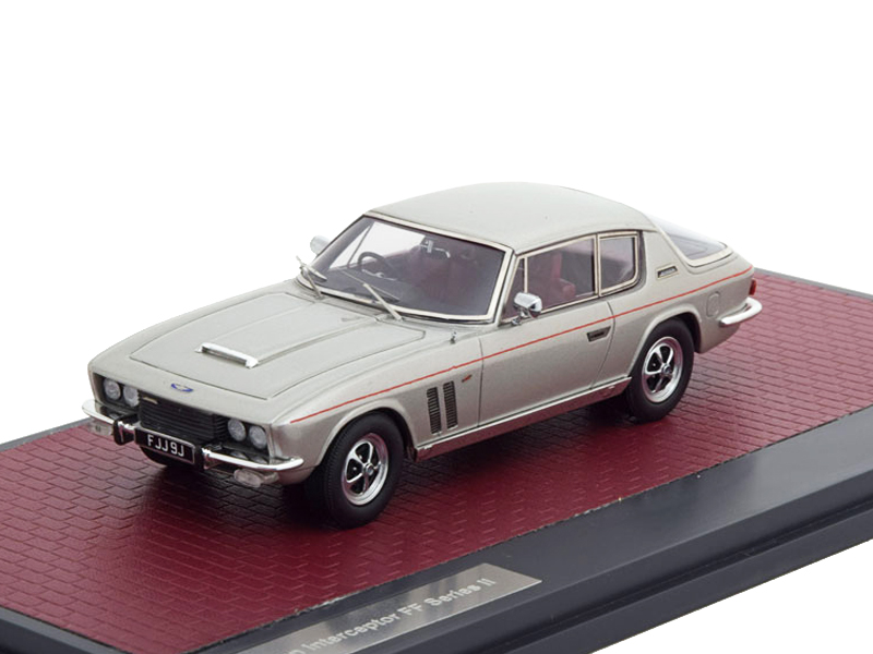 Jensen Interceptor FF Series II 1970 Silver