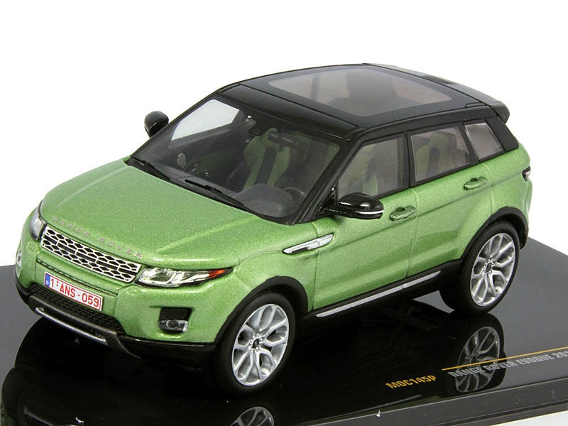 Range Rover Evoque 5 doors 2011 Lime and Black