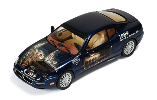 Maserati Coupe Cambiocorsa 2002 Blue (Maserati 90th Anniversary - Fall of Berlim Wall 1989)