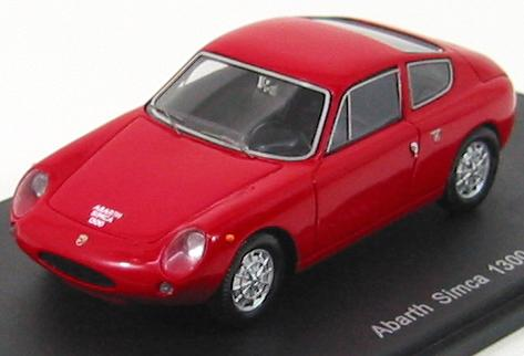 Abarth Simca 1300 1961 Red