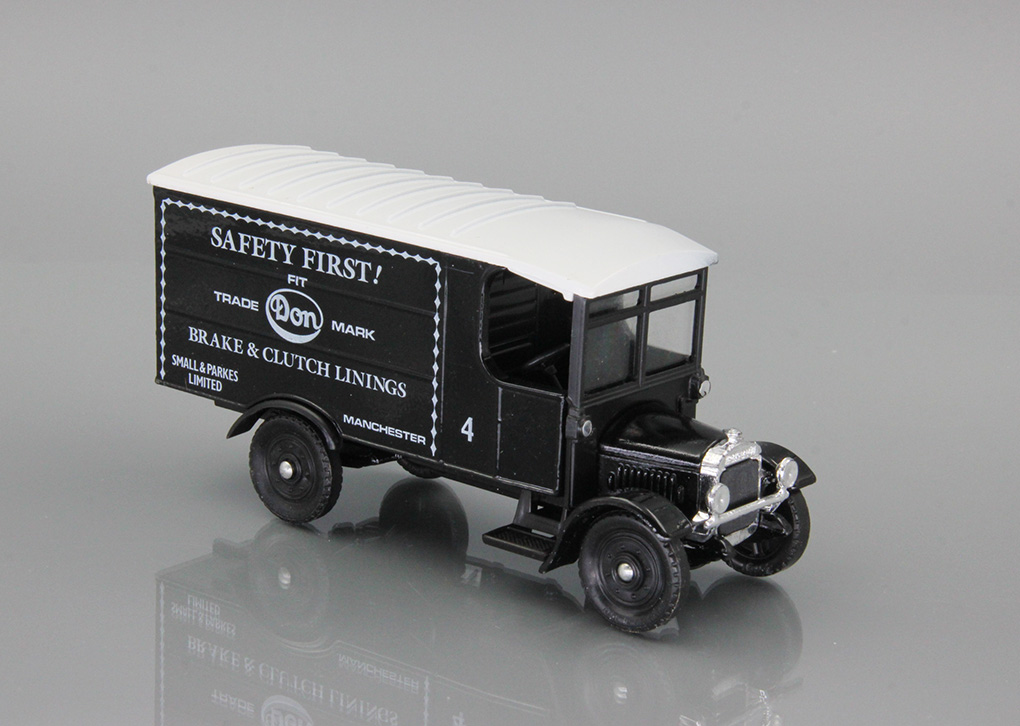 Thornycroft Van Saffety First