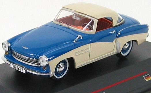 Wartburg 313 Sport (1957) Blue and Cream