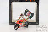 Ducati Desmosedici GP 11.2 Rossi 2011  'Tribute to Marco' with figurine