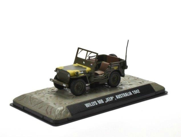 Jeep Willys MB Австралия 1942