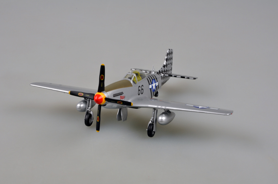 Самолет P-51K 6 Air Commando Aquadron 1ACG, India, 1945