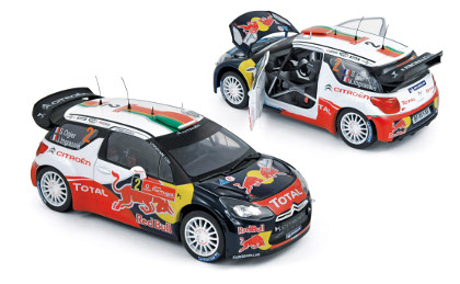 "Citroen DS3 WRC ""Red Bull"" (Ogier, Ingrassia) Winner Rallye du Portugal 2011"