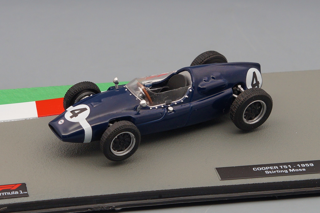 COOPER T51 Стирлинга Мосса (1959), Formula 1 Auto Collection 19