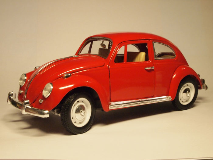 Volkswagen Beetle (1967) red