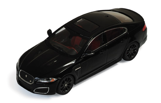 Jaguar XFR (2010) Black Metallic
