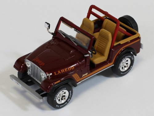 Jeep C7 4x4 Laredo 1986 Dark Brown
