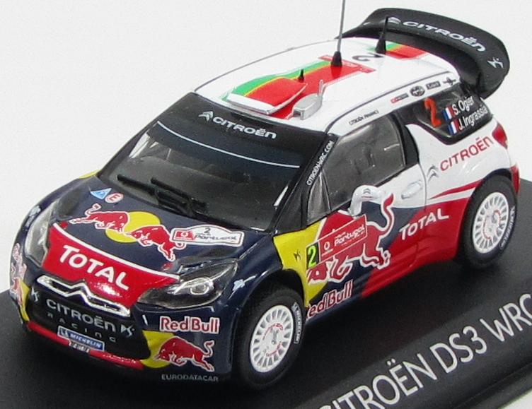 "Citroen DS3 WRC ""Red Bull"" #2 Winner Rally Portugal 2011 J.Ingrassia, S.Ogier"