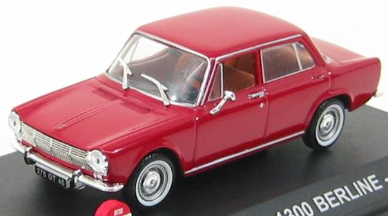 Simca 1300 Berline 1965 Red