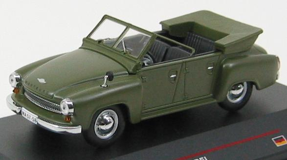 Wartburg 311-4 Kubel (1957) green