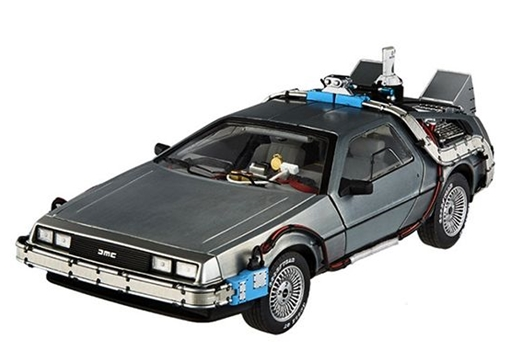 DeLorean DMC-12 Time Machine, Back to the Future with Mr Fusion